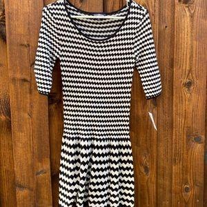 NWT Freshman 1996 Striped Sweater Dress